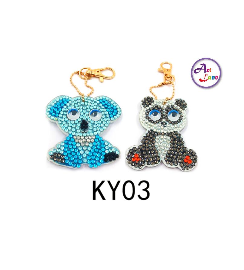 KY03-DiamondArt-Keychain