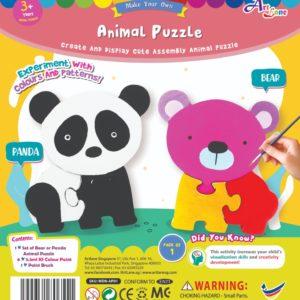 Animal Puzzle - Panda