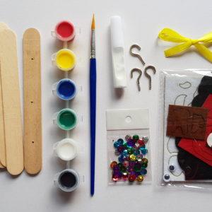 Key Hanger - Christmas set - Tool View