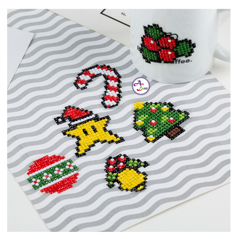 Sticker – T005圣诞一 (3)