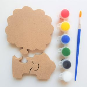 Wooden Craft - Lion Kit