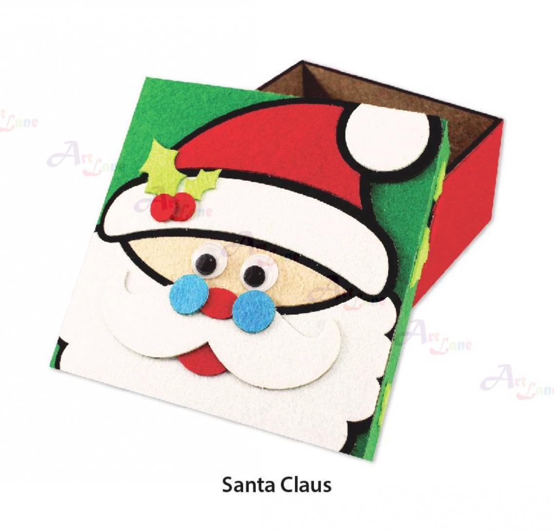 felt-christmas-gift-box-Santa