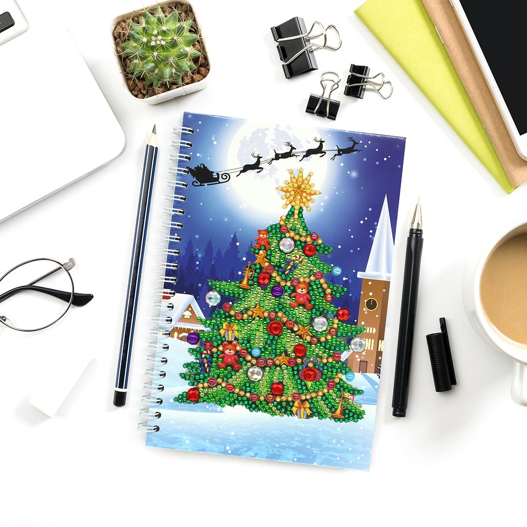Diamond Notebook Xmas Tree 2