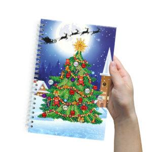 Diamond Notebook Xmas Tree