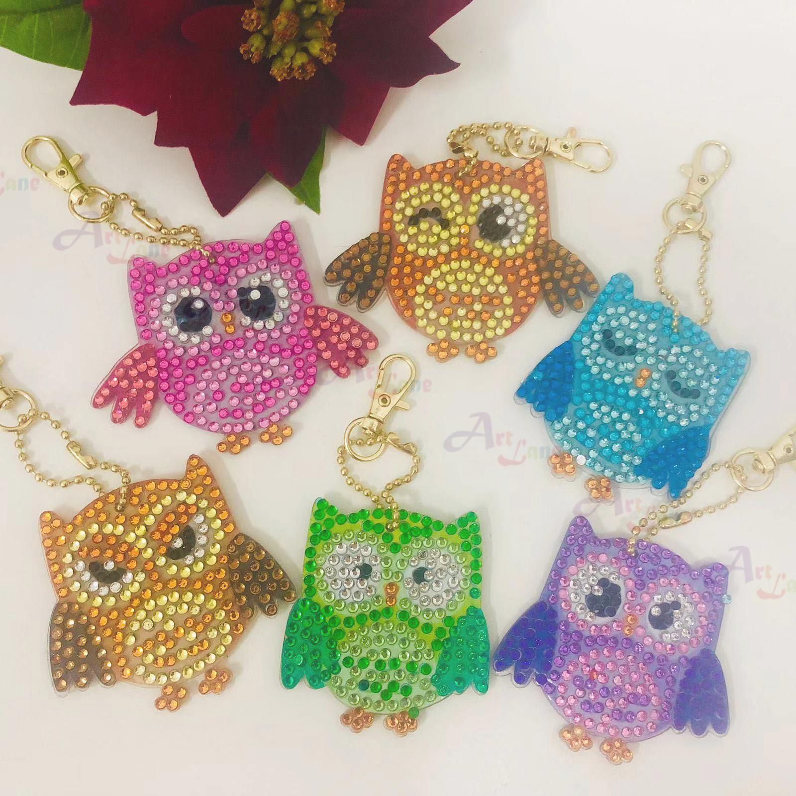 Key Chain – Owls