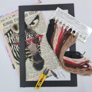 Cross Stitch - Zebra - Tool Kit