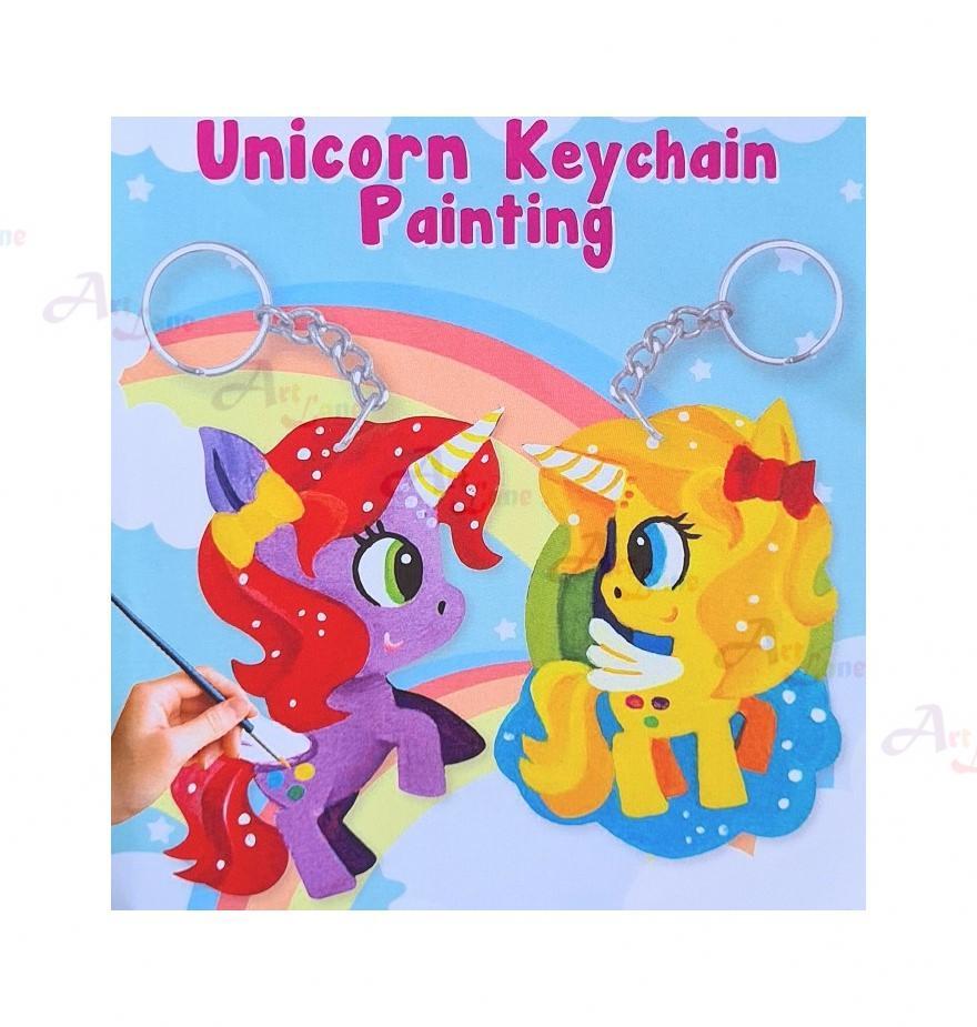 Unicorn Keychain Painting Product Image