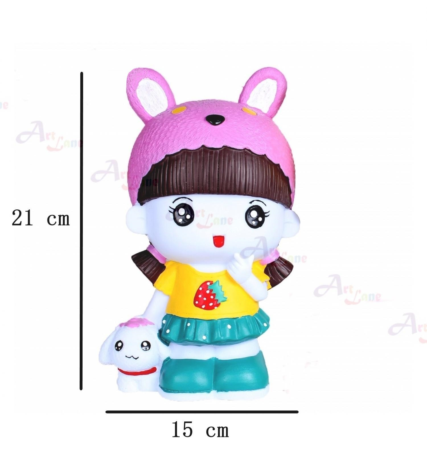 Coin Bank – Bunny Hat with watermark