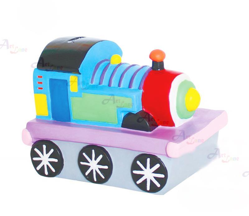 Coin-Bank-Painting-Train with watermark