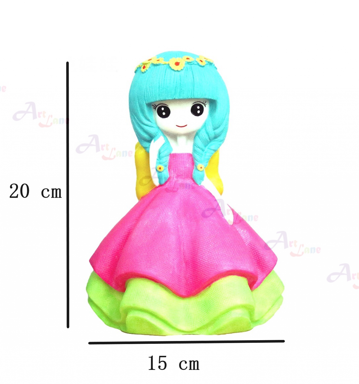 Coin Bank – Pink-doll with watermark