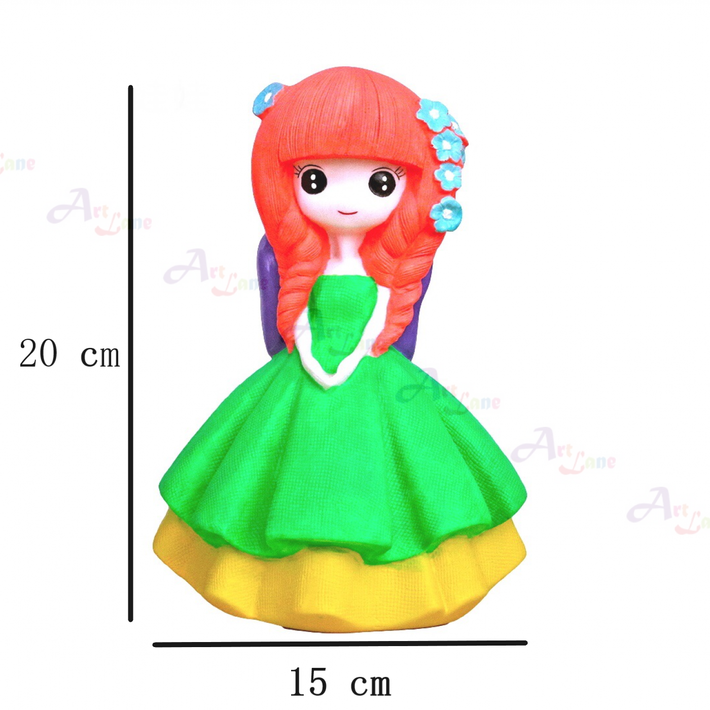 Coin Bank – green-doll with watermark