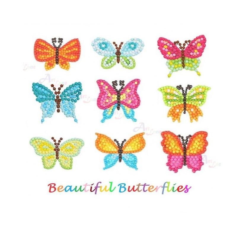 Diamond-Stickers-Butterflies with watermark