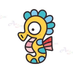Glass-Deco-Set-4-Seahorse with watermark