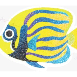 Sand-art-Magnet-Angelfish with watermark