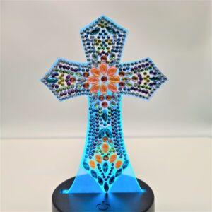 Diamond LED Cross 2
