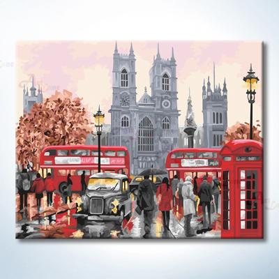 HB4050387-伦敦圣保罗大教堂-40×50-1 with watermark