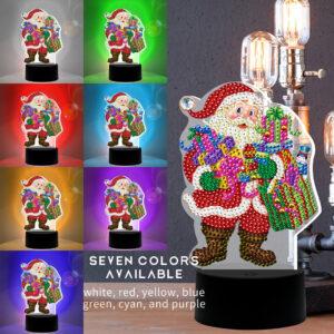 LED Santa Colors