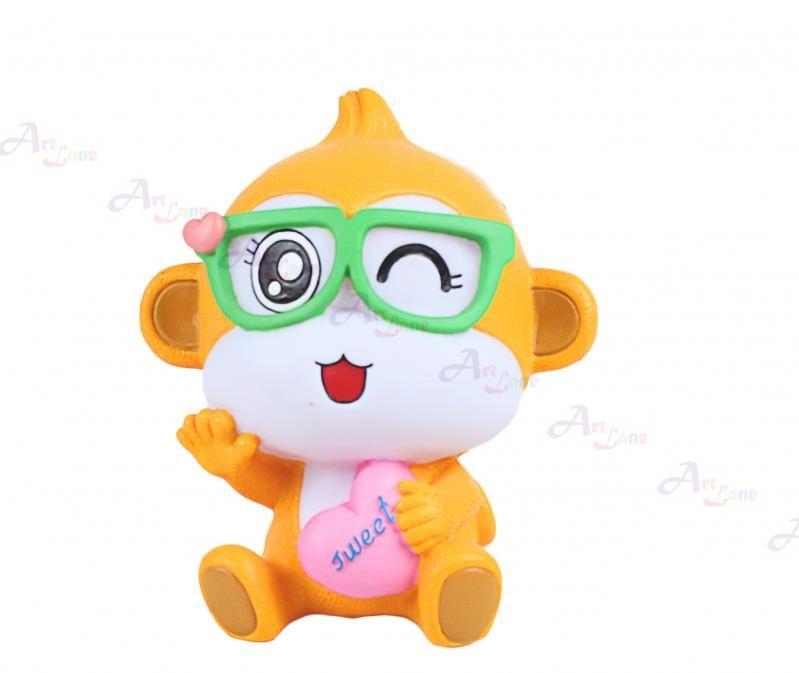Coin Bank – Monkey With Sunglasses with watermark