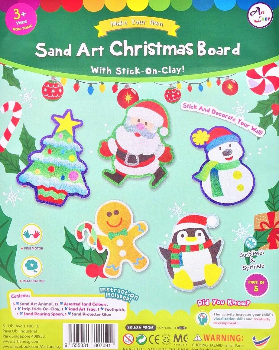 Sand Art Christmas Board